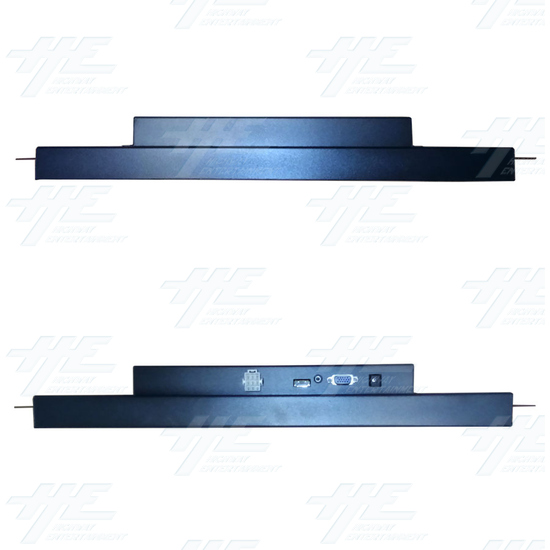 20 inch LCD Monitor suitable for Lowboy Cabinet or Cocktail Table - Top & Bottom View