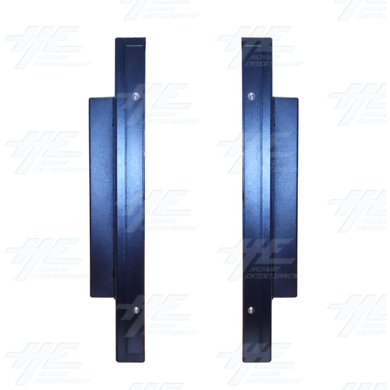 20 inch LCD Monitor suitable for Lowboy Cabinet or Cocktail Table - Left & Right View