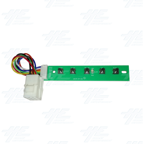 20 inch LCD Monitor suitable for Lowboy Cabinet or Cocktail Table - Menu PCB