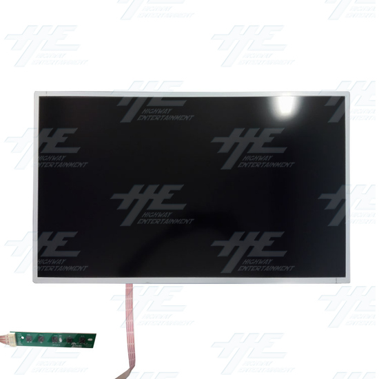 32 Inch LCD LG Arcade Monitor - LG320EUJ-FFE2 - 32 Inch LCD LG Arcade Monitor - Front View