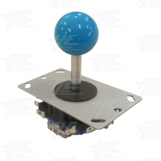 Blue Ball Top Joystick for Arcade Machine - Blue Joystick