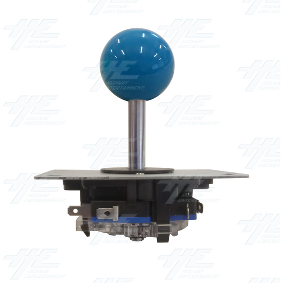 Blue Ball Top Joystick for Arcade Machine - Blue Joystick Front View