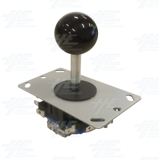 Black Ball Top Joystick for Arcade Machine - Black Joystick