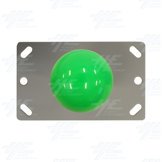 Green Ball Top Joystick for Arcade Machine - Green Joystick Top View