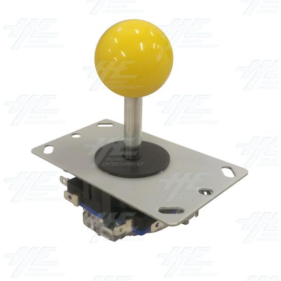 Yellow Ball Top Joystick for Arcade Machine - Yellow Joystick