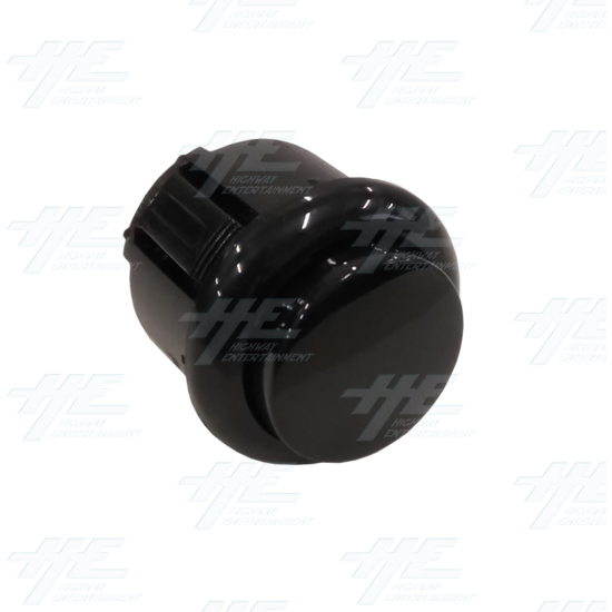 DIY Black Arcade Joystick and Buttons Kit for Arcade Machines - 24mm Black Button Angle View