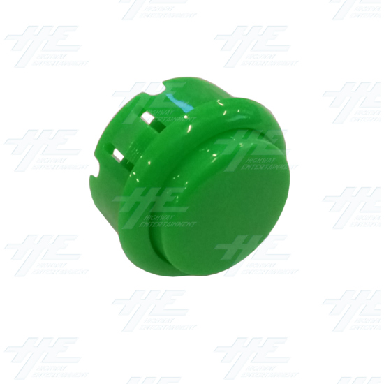 DIY Green Arcade Joystick and Buttons Kit for Arcade Machines - 30mm Green Button Angle View