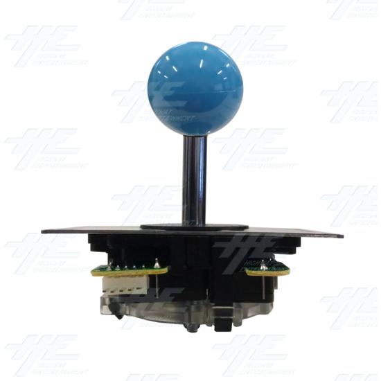 DIY Blue Arcade Joystick and Buttons Kit for Arcade Machines - Blue Joystick Front View