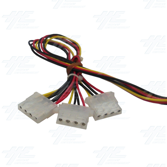 12 Volt Power Supply for Arcooda Machines - Power Supply Cable View