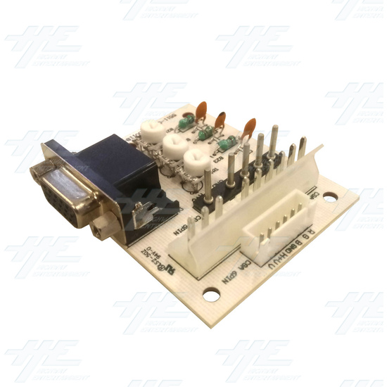 20 inch LCD Monitor suitable for Lowboy Cabinet or Cocktail Table - VGA Adapter Board