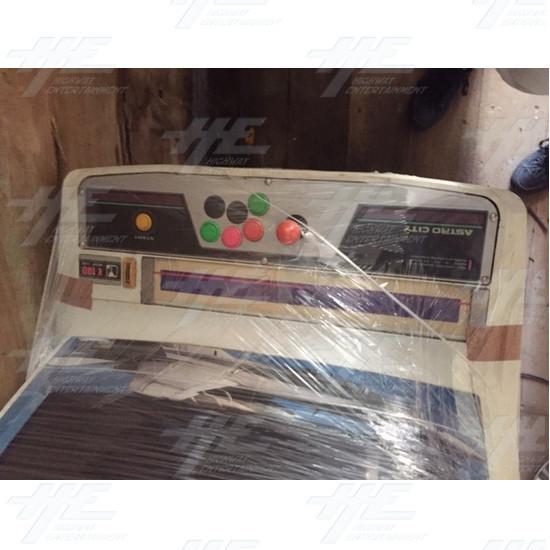 Astro City Arcade Cabinet - Astro City Control Panel