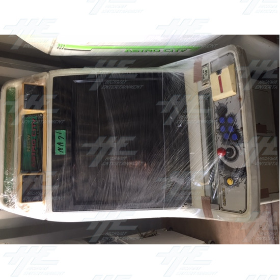 New Astro City Arcade Cabinet - New Astro City Cabinet