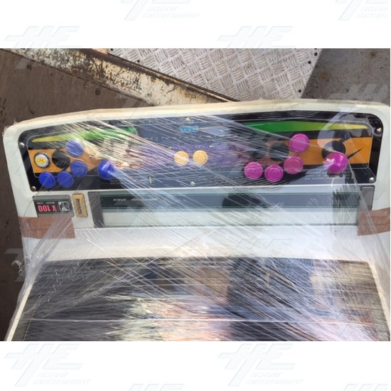 New Astro City Arcade Cabinet - Sega 2 Player Control Panel