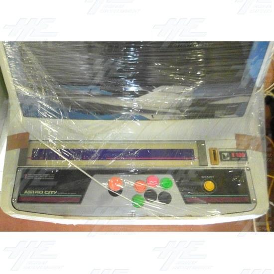 Astro City Arcade Cabinet - Control Panel
