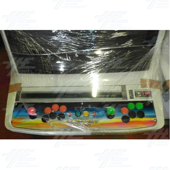 New Astro City Arcade Cabinet - Control Panel