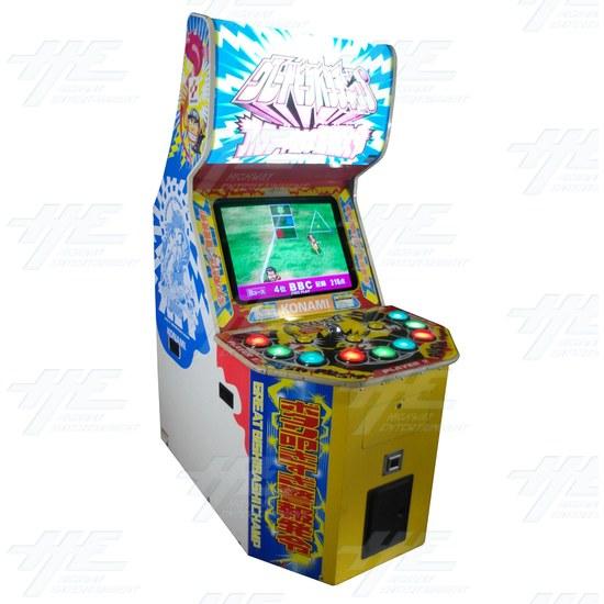 Great Bishi Bashi Champ Arcade Machine - Angle View