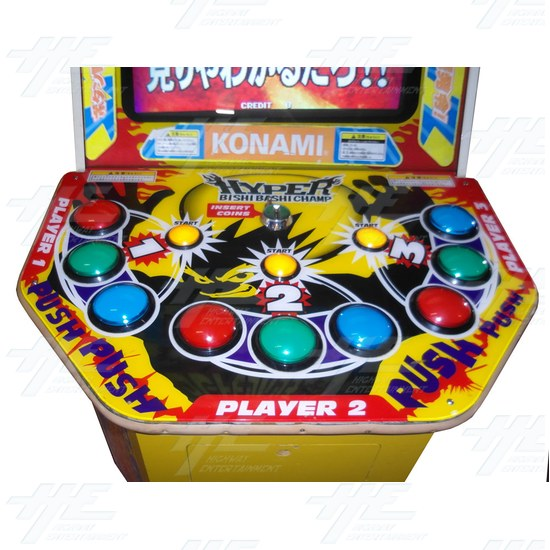 Great Bishi Bashi Champ Arcade Machine - Control Panel