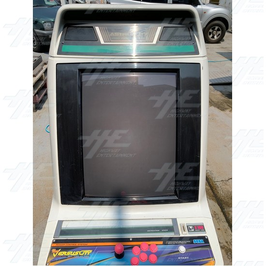 Astro City Arcade Cabinet - Front View