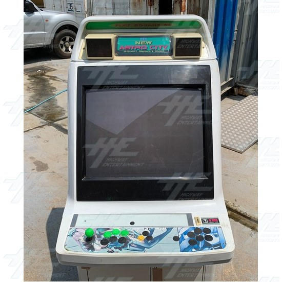 New Astro City Arcade Cabinet - Front View