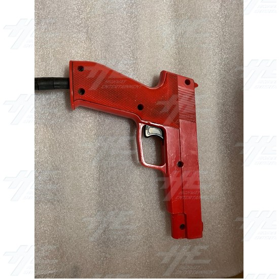 Happ Gun (Red) - Front View