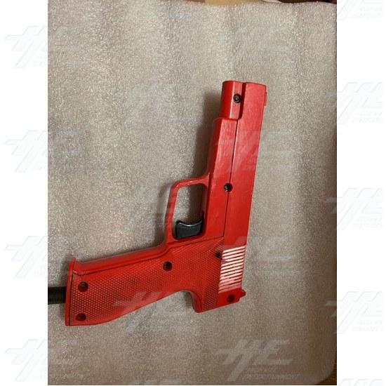 Happ Gun (Red) - Front View
