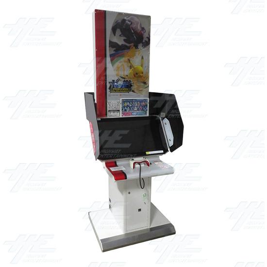 Pokken Tournament Arcade Machine - Pokken Tournament - Angle View 1