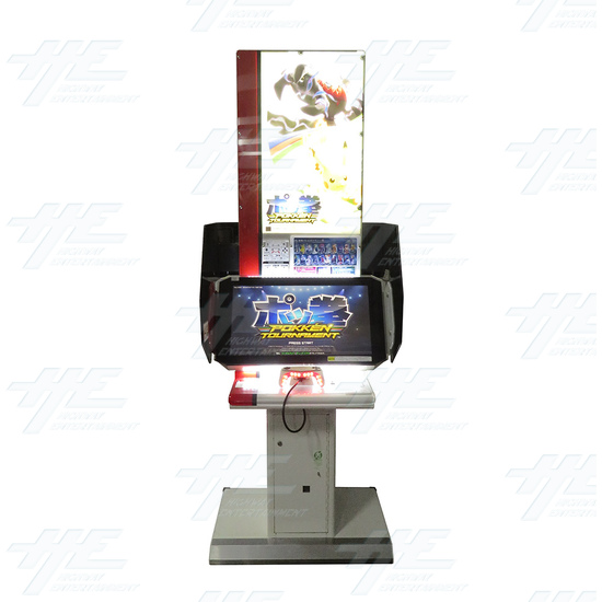 Pokken Tournament Arcade Machine - Pokken Tournament - Front View