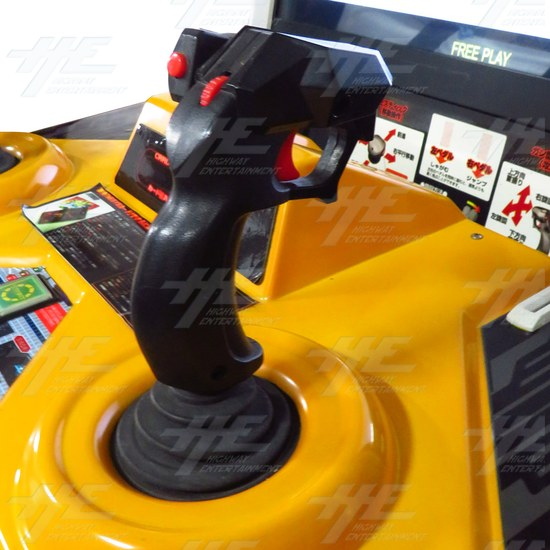 Half Life 2 Survivor v2.0 SD Arcade Machine - Half Live Survivor - Joystick View