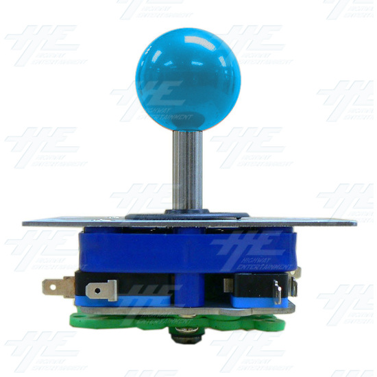 Blue Ball Top Joystick for Arcade Machine (Zippy Styled) - Side View