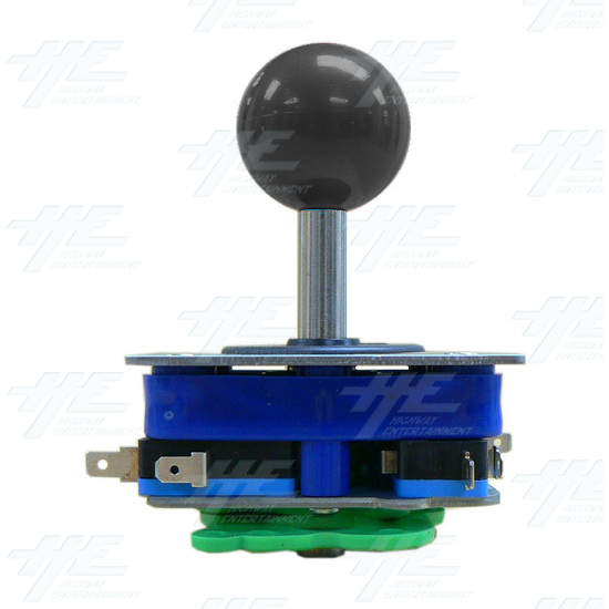 Black Ball Top Joystick for Arcade Machine (Zippy Styled) - Side View