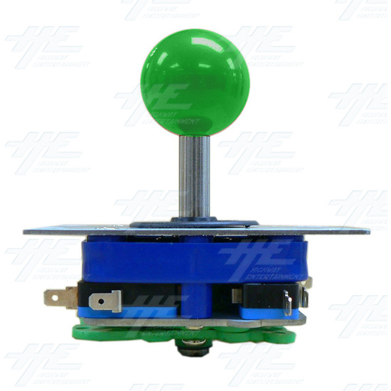 Green Ball Top Joystick for Arcade Machine (Zippy Styled) - Side View