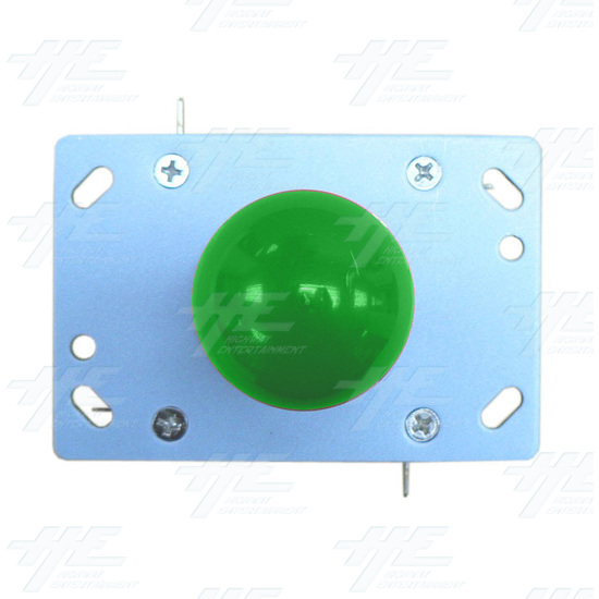 Green Ball Top Joystick for Arcade Machine (Zippy Styled) - Top View