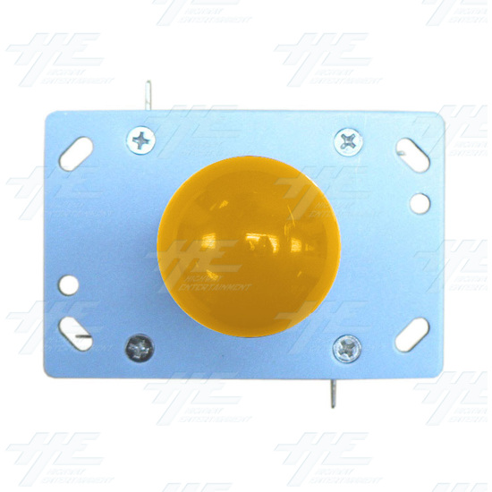 Yellow Ball Top Joystick for Arcade Machine (Zippy Styled) - Top View