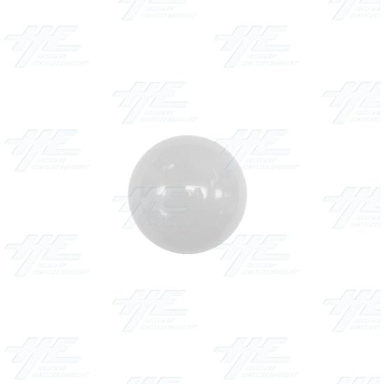 Arcade Joystick Ball Top - White - White