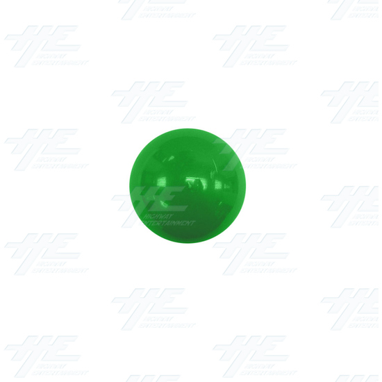 Arcade Joystick Ball Top - Green - Green