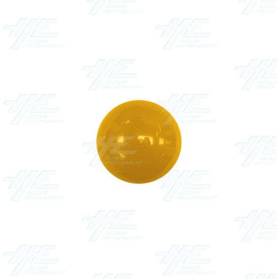 Arcade Joystick Ball Top - Yellow - Yellow