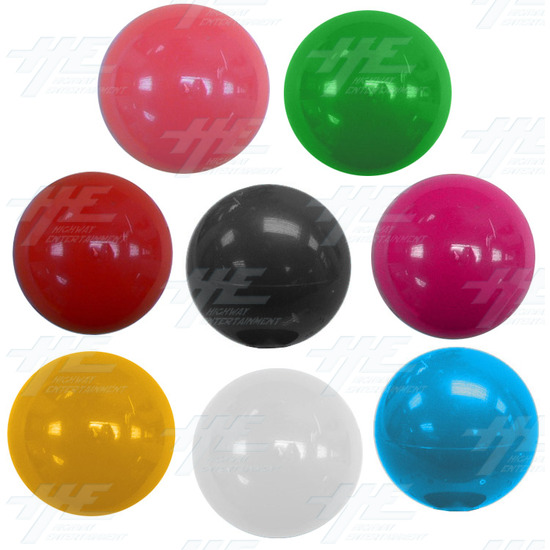 Arcade Joystick Ball Top - Red - Other Available Colours