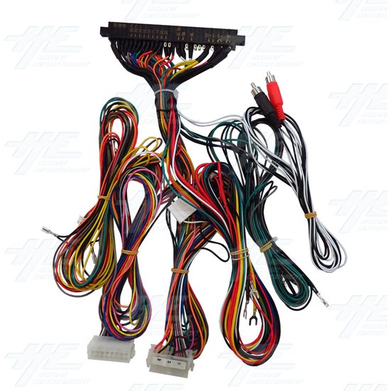 JAMMA Harness for Arcade Machines - Audio Plug Version - jamma-harness.jpg