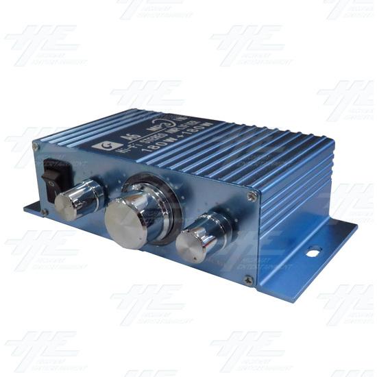 12V Stereo Arcade Amplifier - angle.jpg