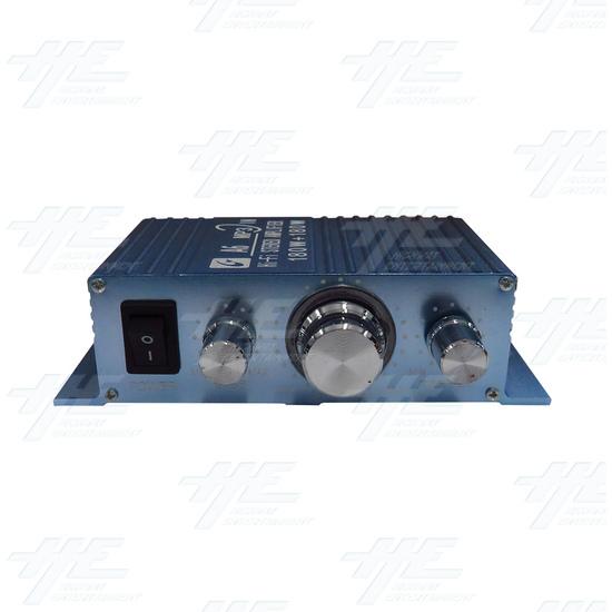 12V Stereo Arcade Amplifier - front.jpg