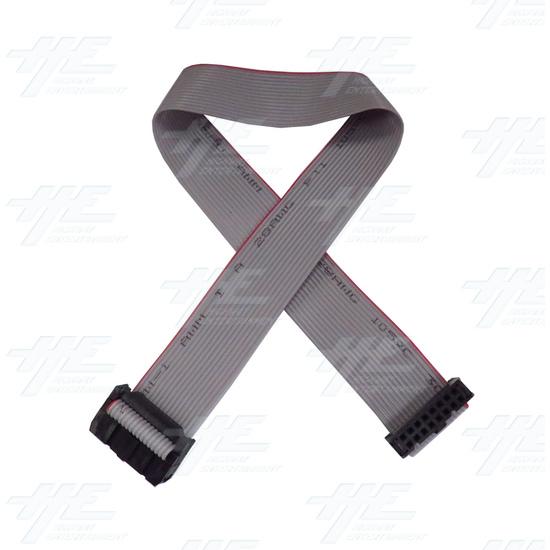 16 Pin Ribbon Cable - 30cm  - 30cm-ribbon-cable.jpg