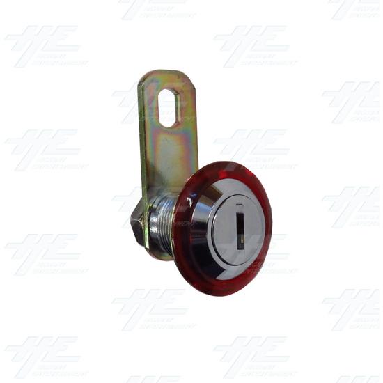 Arcade Machine Lock 20mm (Sega Replacement) Key S002 - angle.jpg