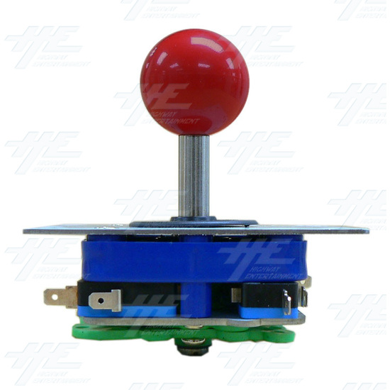 Red Ball Top Joystick for Arcade Machine (Zippy Styled) - Side View 1