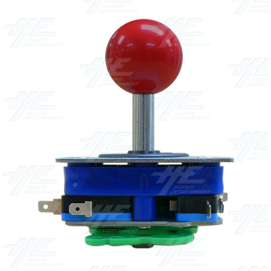 Red Ball Top Joystick for Arcade Machine (Zippy Styled) - Side View 2
