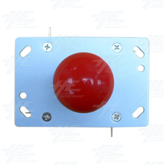 Red Ball Top Joystick for Arcade Machine (Zippy Styled) - Top View