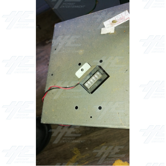Arcade Machine Coin Door and Cash Box Assembly #02 - Arcade Machine Coin Door and Cash Box Assembly #02