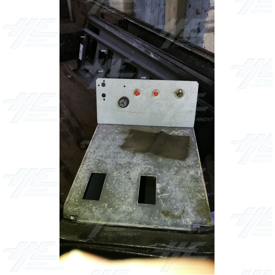 Arcade Machine Coin Door and Cash Box Assembly #03 - Arcade Machine Coin Door and Cash Box Assembly #03
