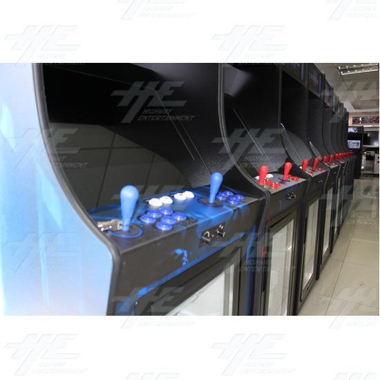 The Entertainer 26inch Arcade Machine (Blue Version) - Entertainer Red & Blue