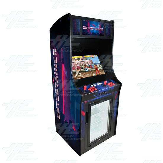 The Entertainer 26inch Arcade Machine (Red Version) - Entertainer Blue